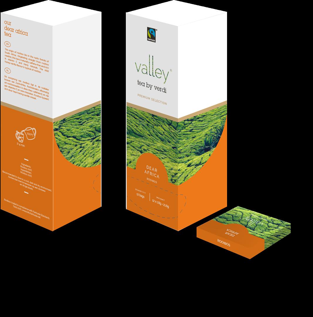 Productafbeelding Valley Tea Premium - Pure Rooibos (12x1,8gr)
