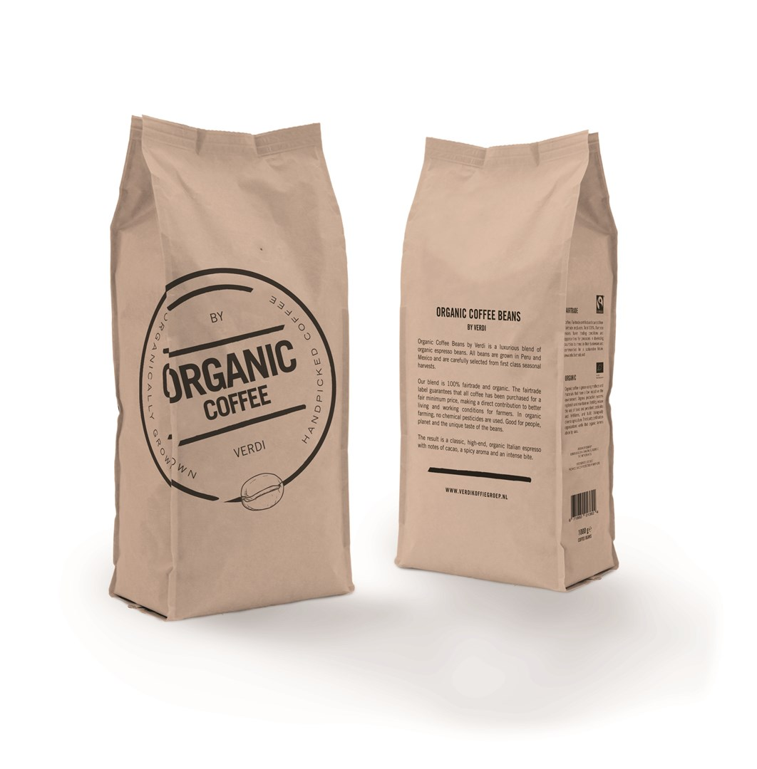 Productafbeelding Organic Coffee Beans (8x1000gr)