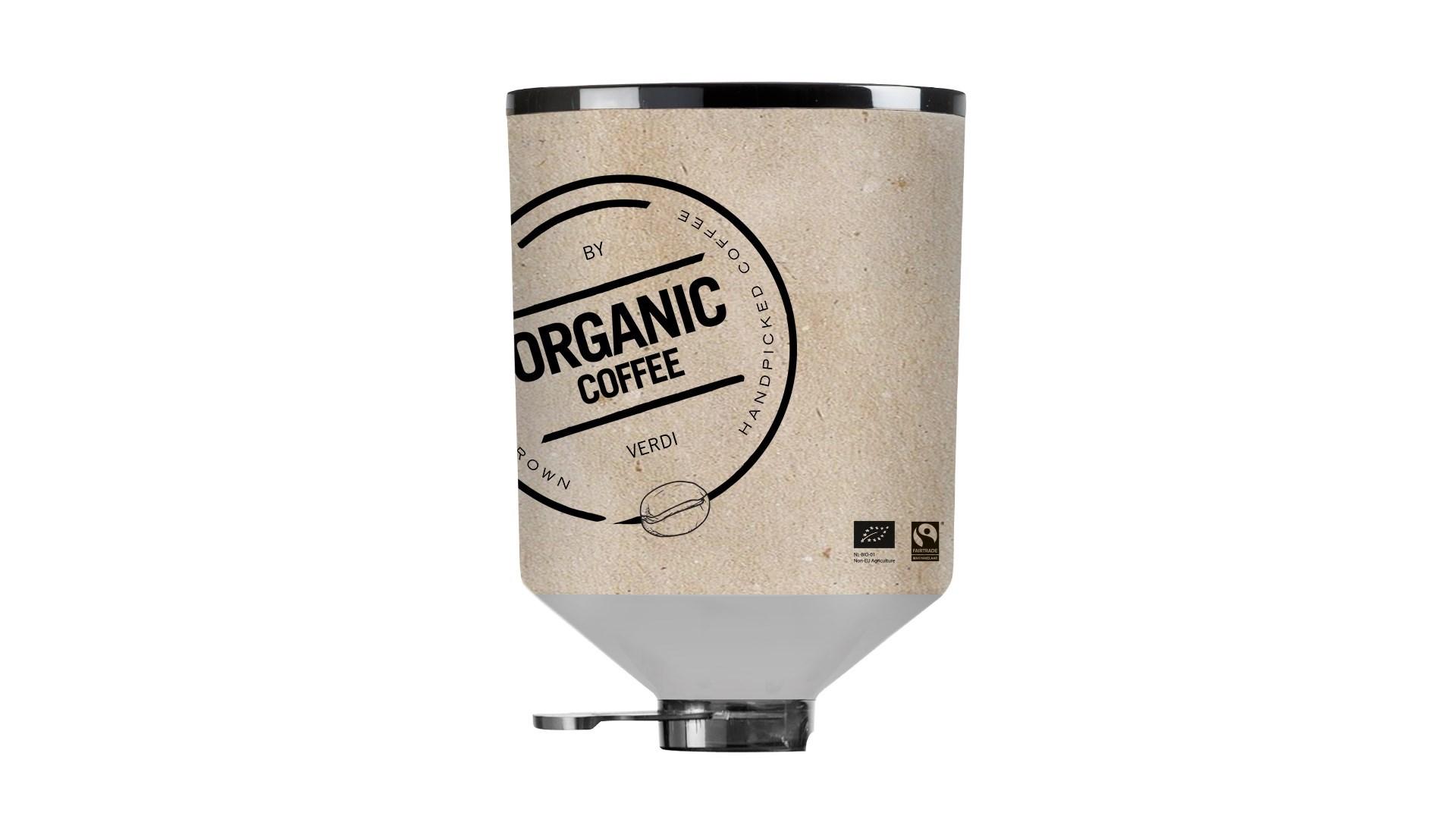 Productafbeelding Organic Coffee Beans Blik (2x3000gr)