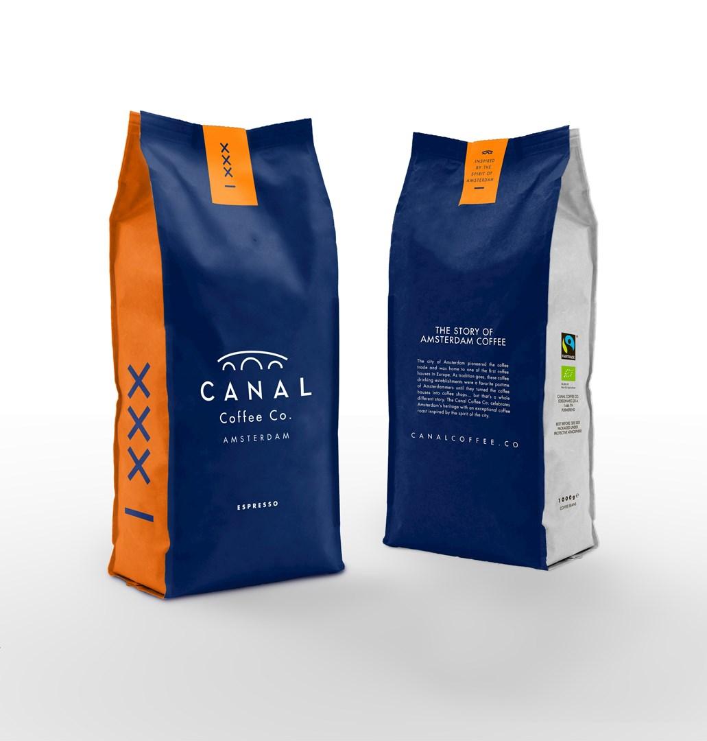 Productafbeelding Canal Coffee Co. Espresso bonen (1000gr)
