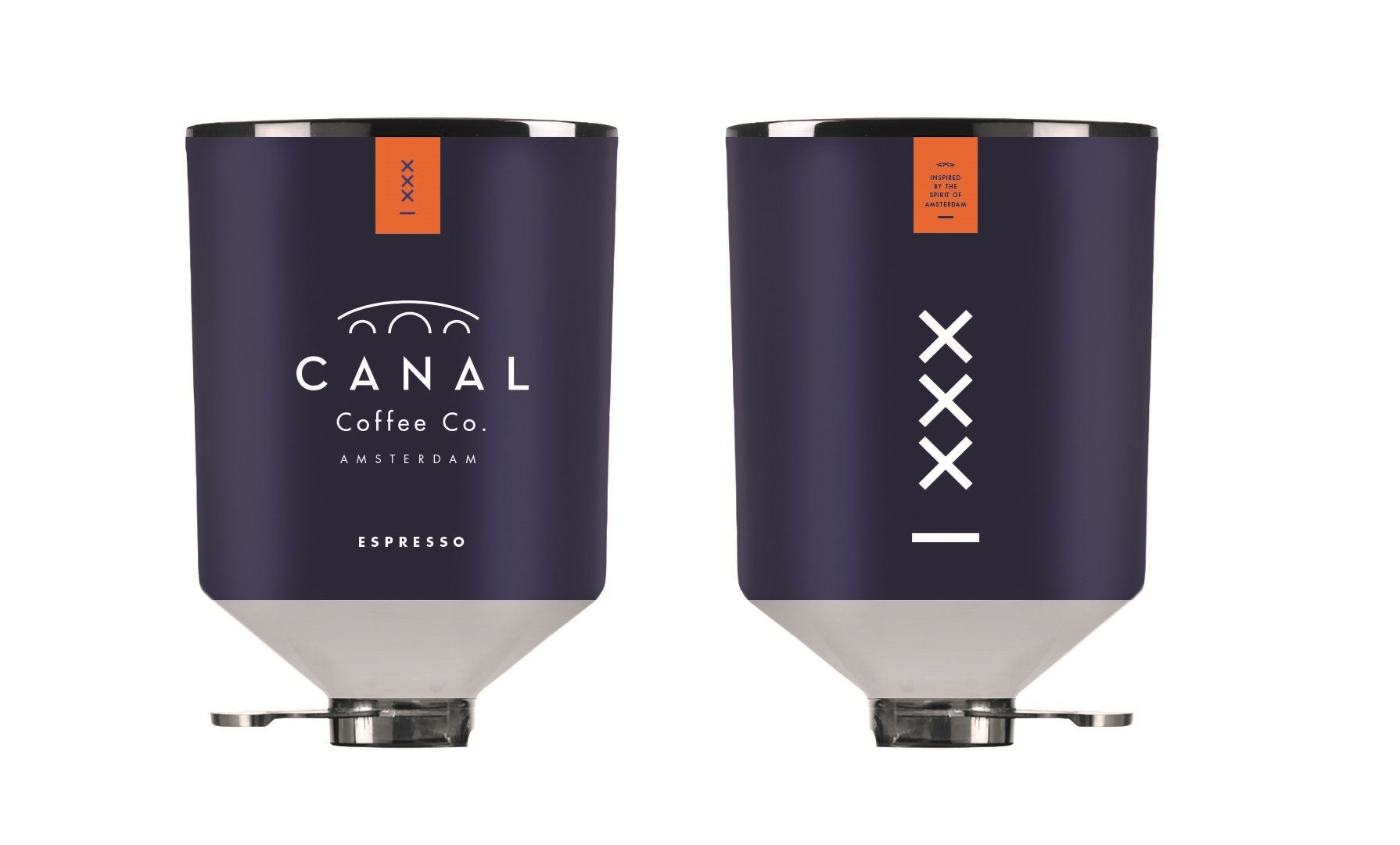 Productafbeelding Canal Coffee Co. Espresso blik (2x3000gr)