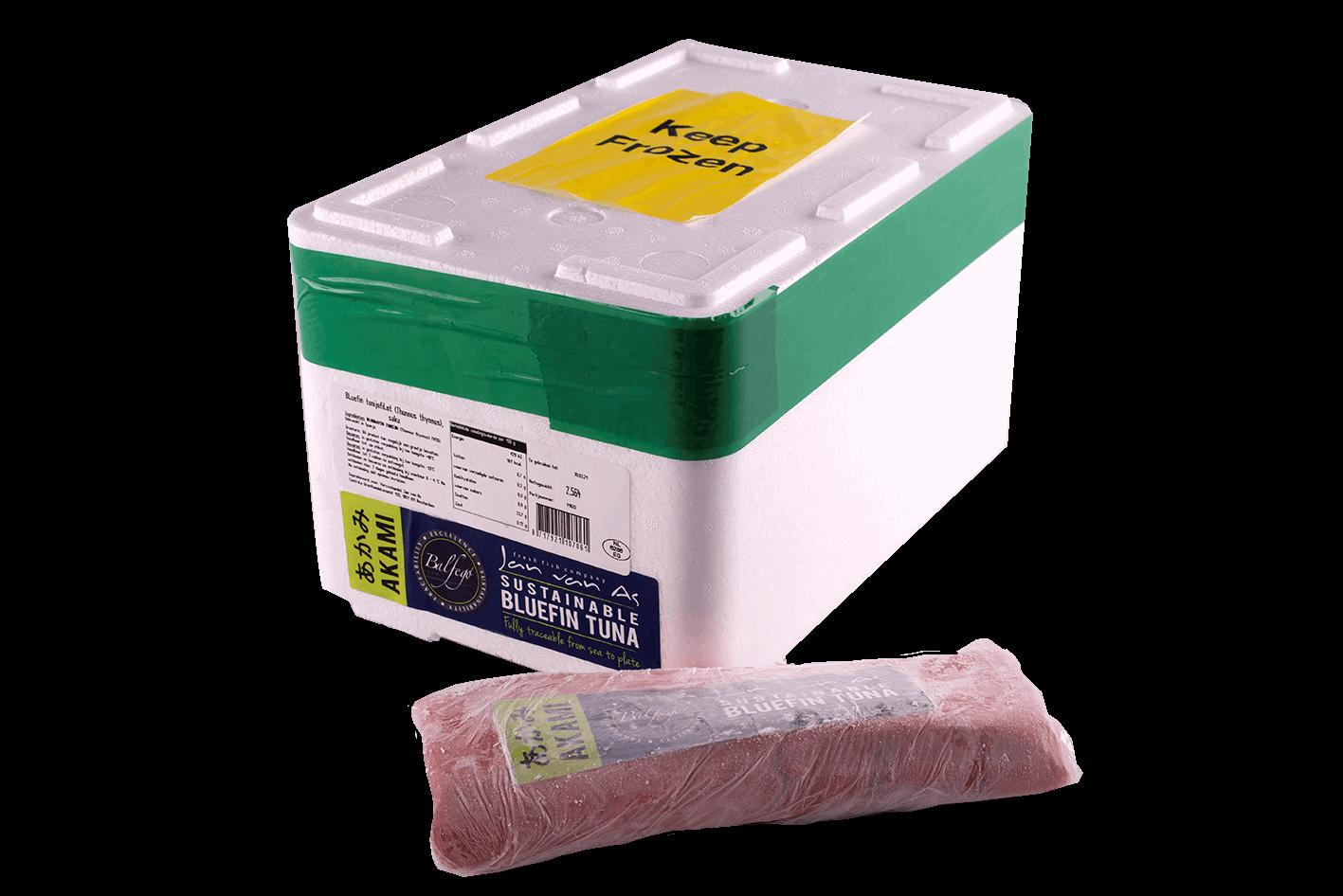 Productafbeelding Saku bluefin akami balfego shockfresh box circa. 2,5 kg