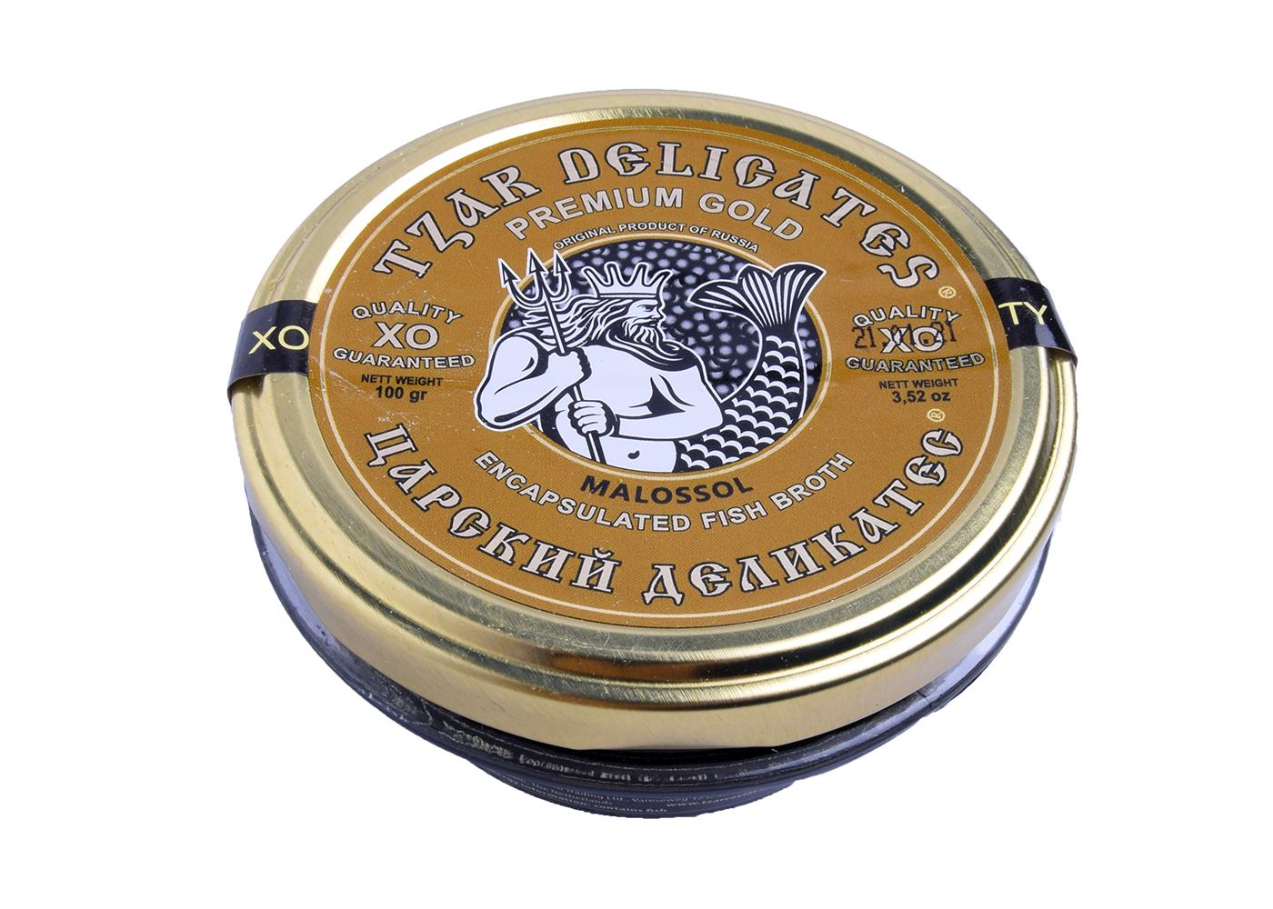 Productafbeelding TZAR CAVIAR POT 100 GR GOLD LABEL