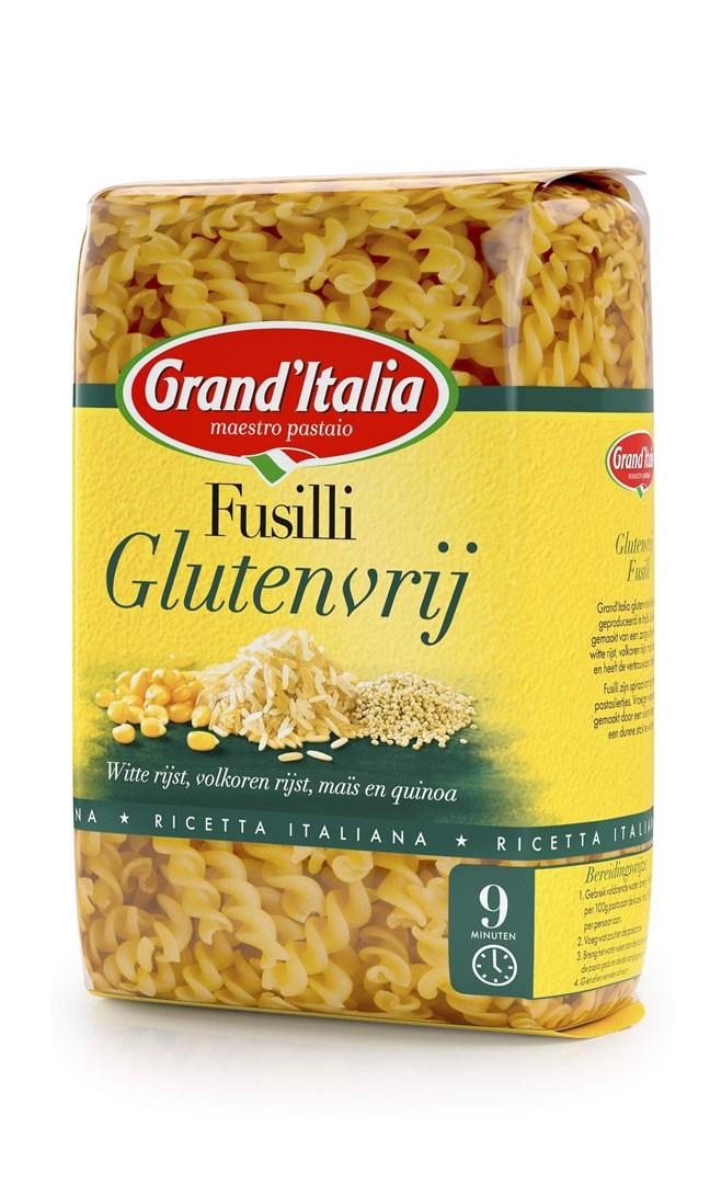 Productafbeelding Grand'Italia Fusilli Glutenvrij 400 g Zak