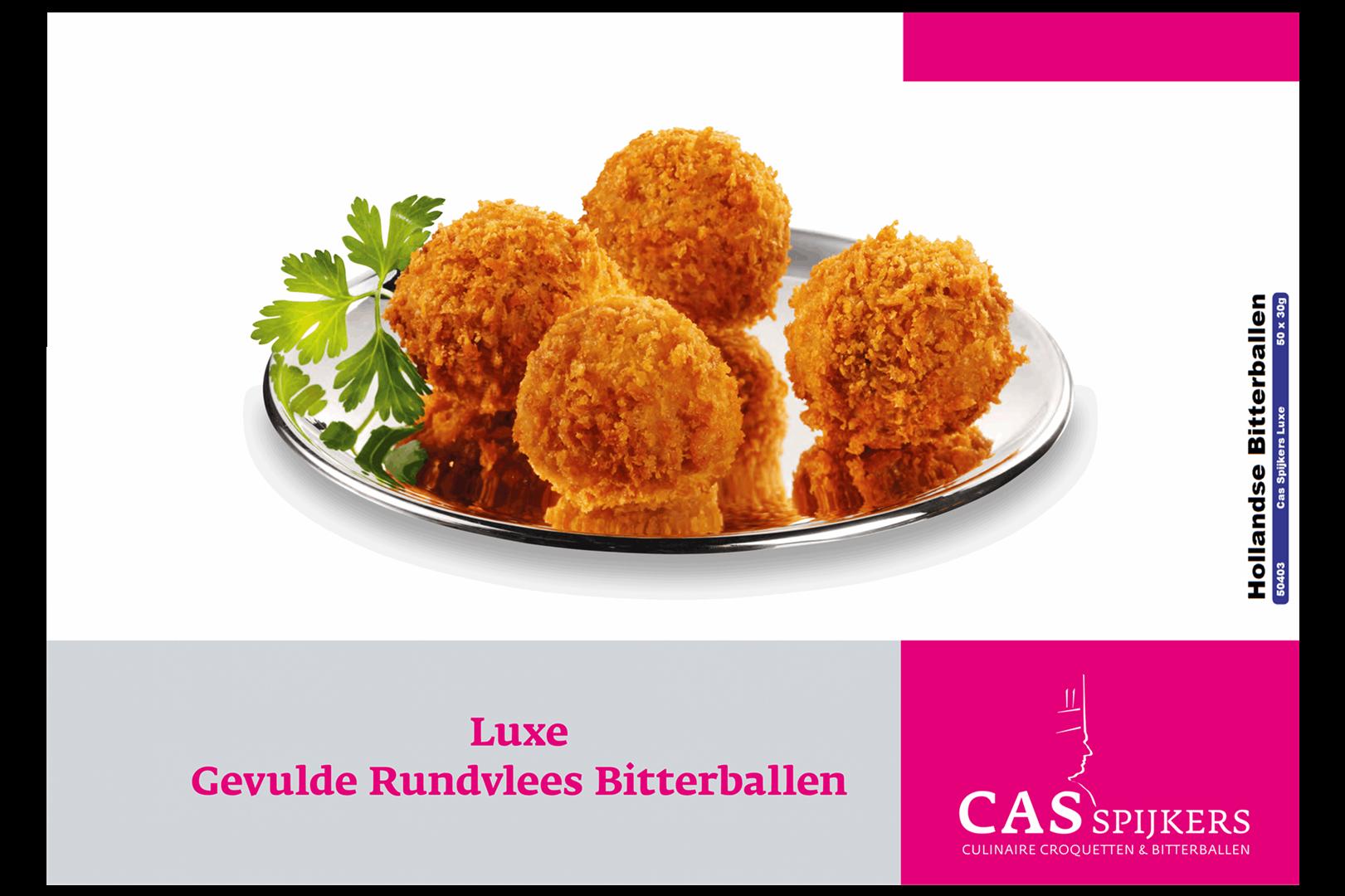 Productafbeelding Cas Culinair Bitterbal luxe hollandse doos