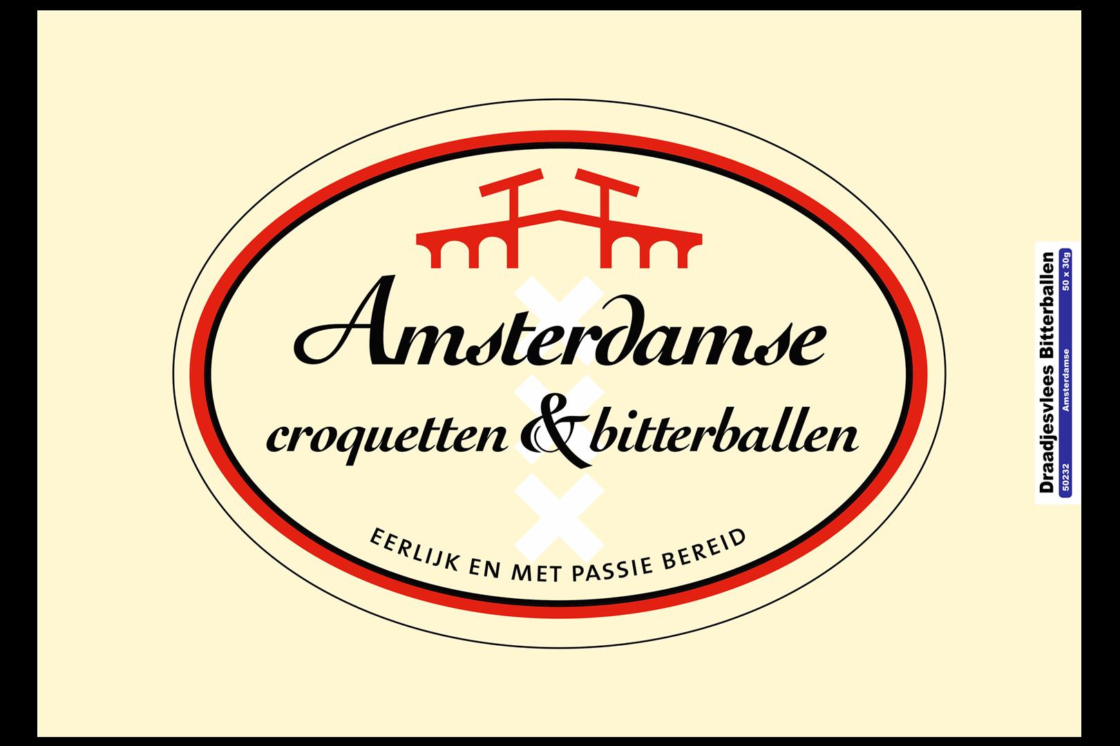 Productafbeelding Amsterdamse Bitterbal rundvlees doos