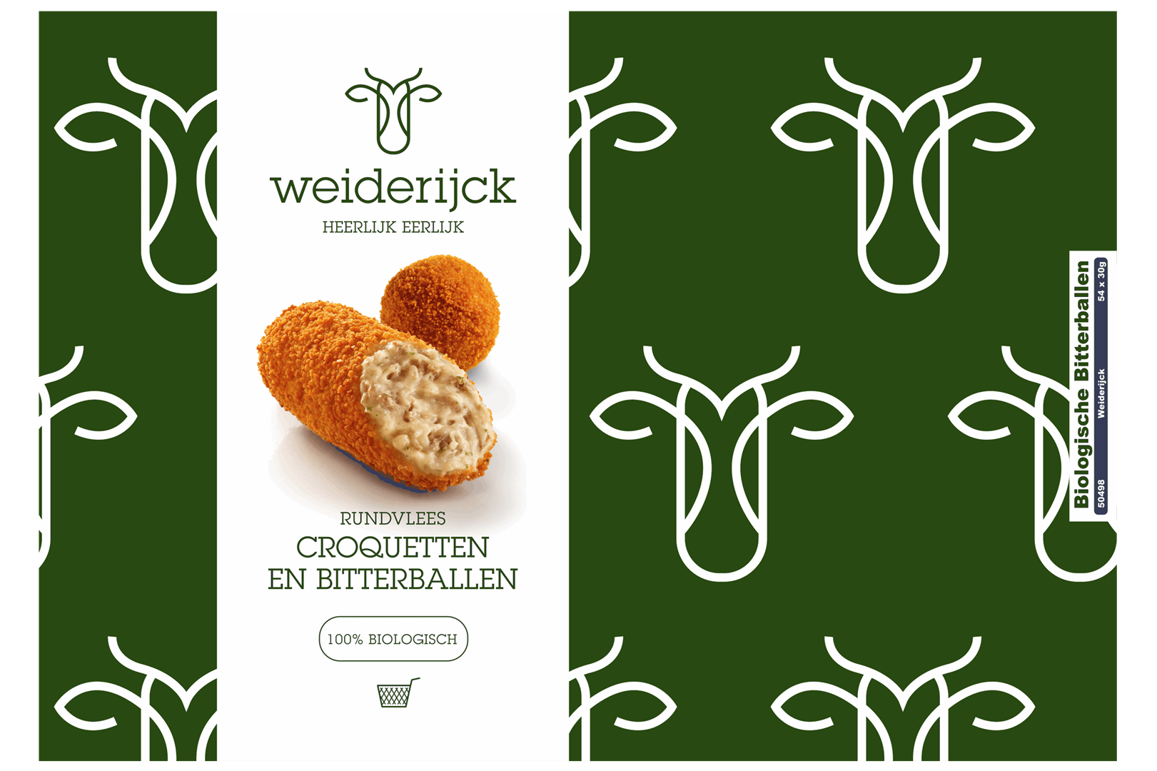 Productafbeelding Weiderijck Bitterbal bio doos
