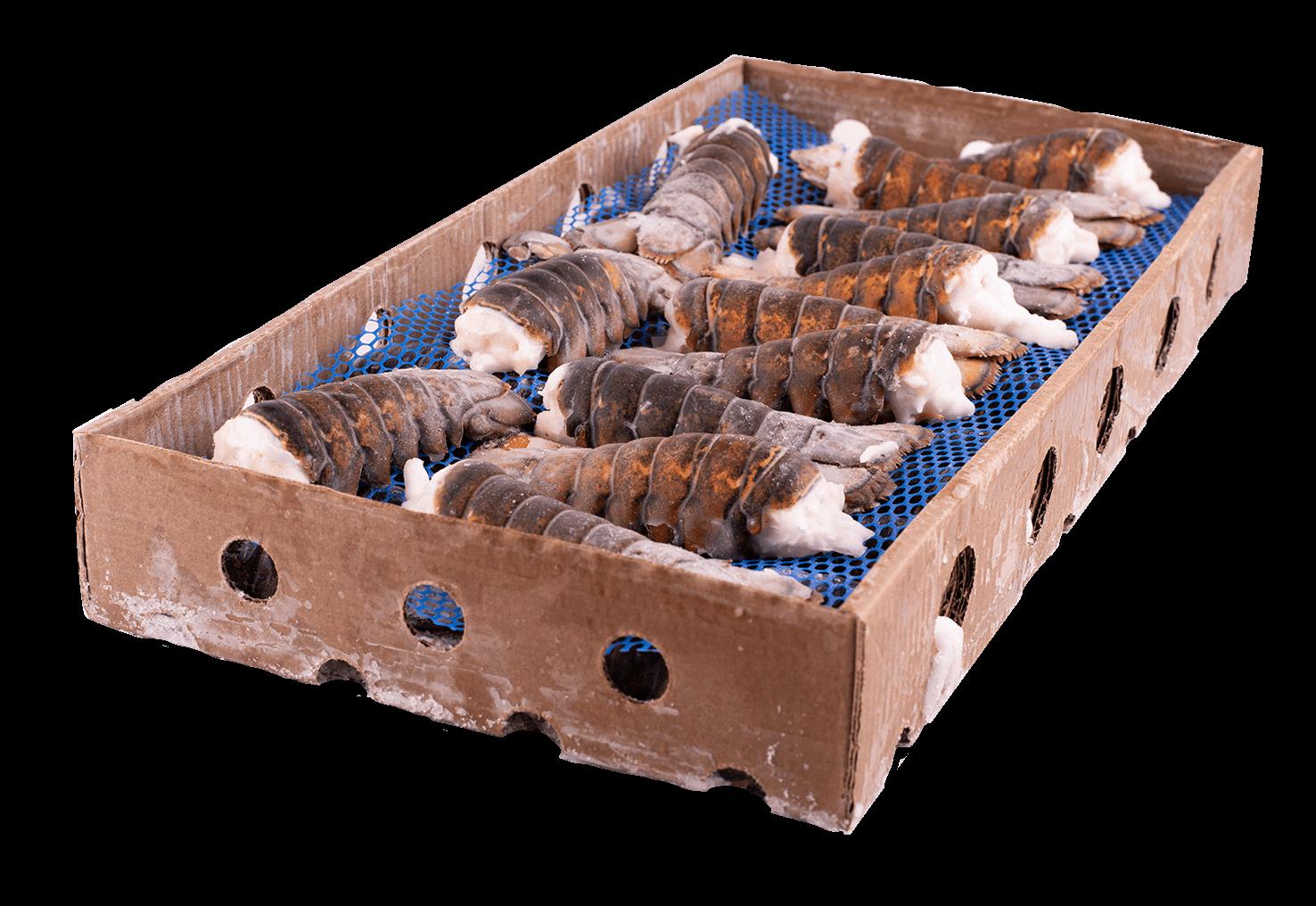 Productafbeelding KREEFTENSTAART UHP GESPLIT 110-140 GRAM DOOS 13,60 KG. DIEPVRIES