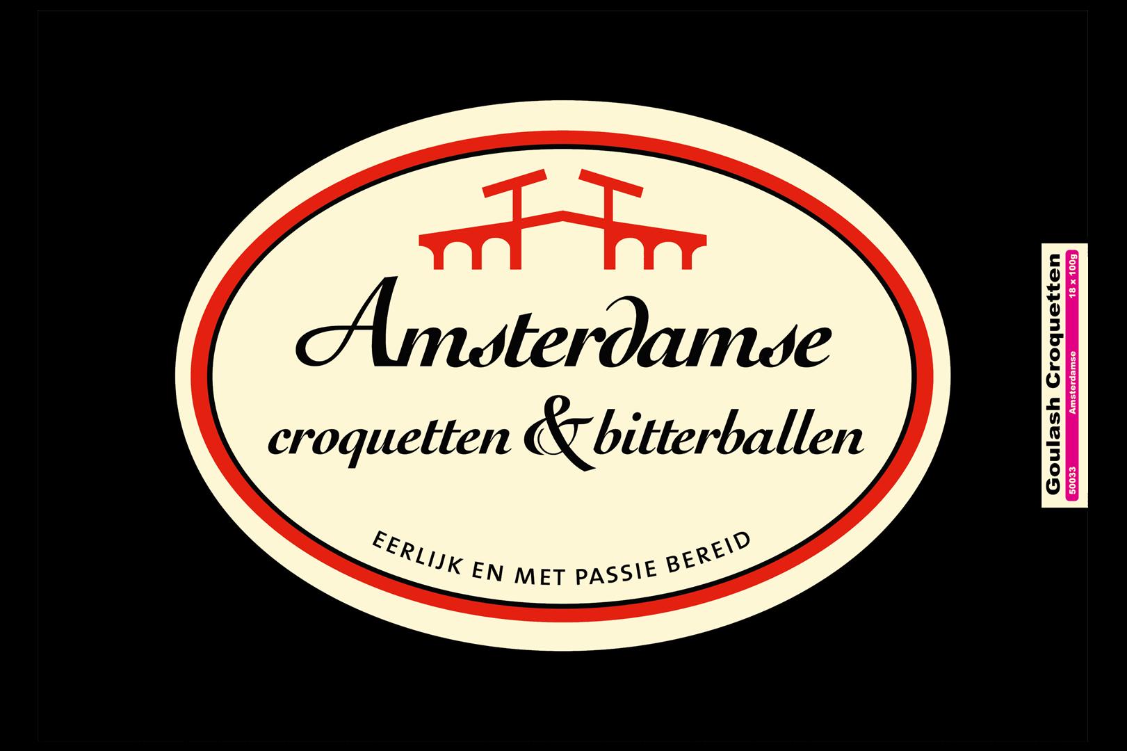 Productafbeelding Amsterdamse Kroket goulash doos