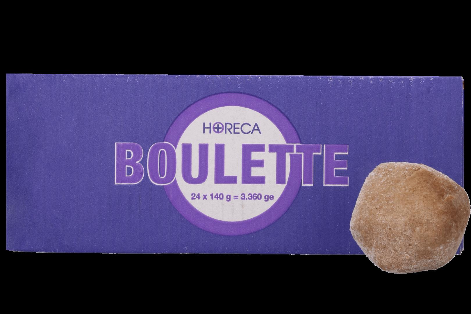Productafbeelding Horeca+ BOULETTE 24X140G doos