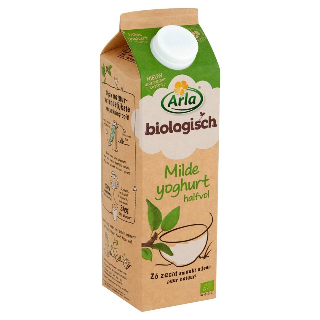 Productafbeelding Arla  Biologisch Milde Halfvolle Yoghurt 1L