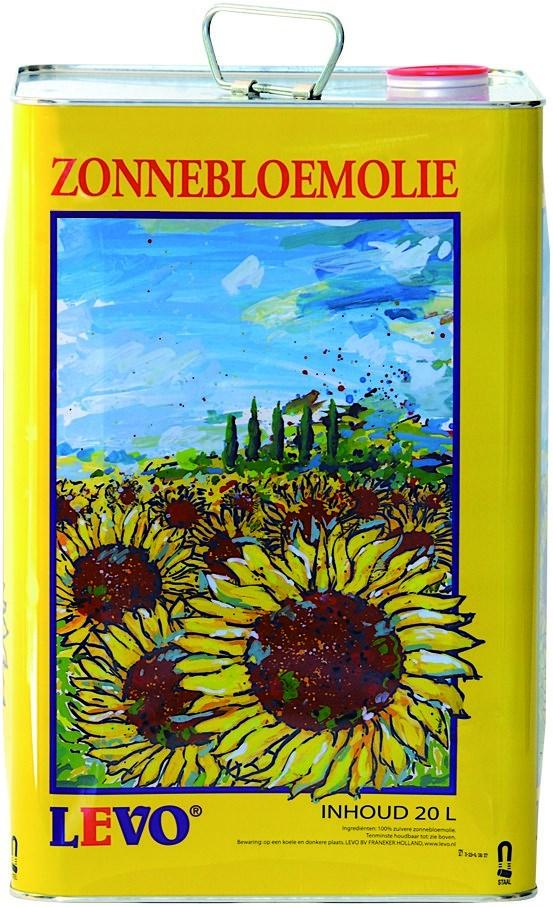 Productafbeelding Zonnebloemolie 20 liter blik