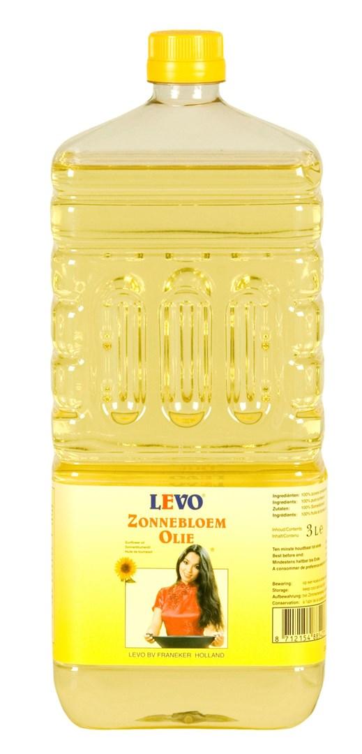 Productafbeelding Zonnebloemolie 3 liter fles