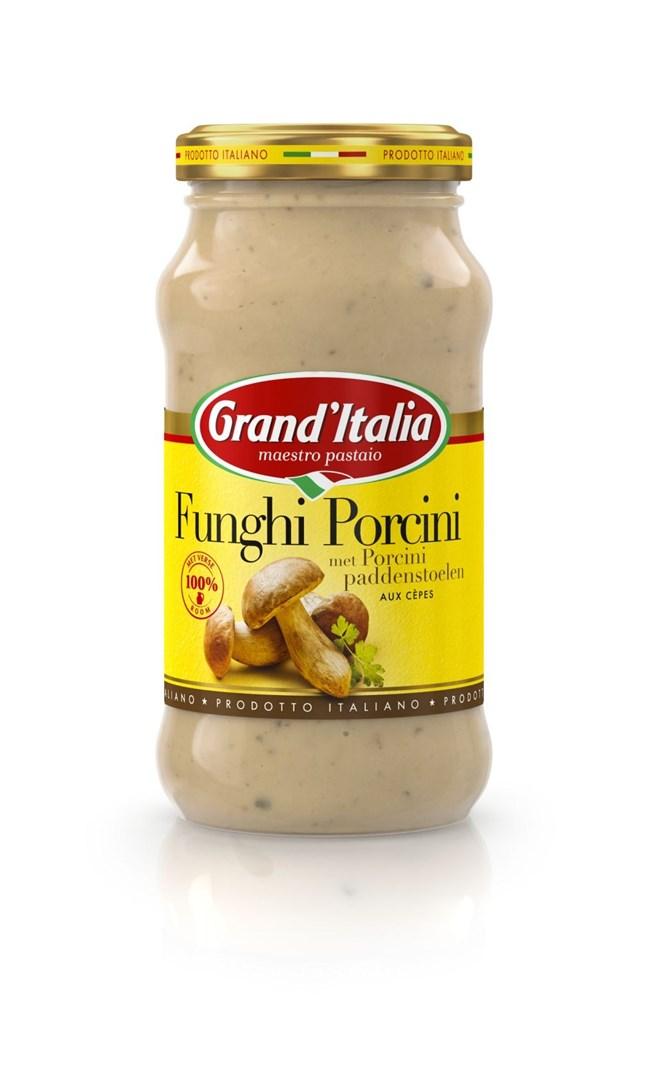 Productafbeelding Grand'Italia Roomsaus Funghi Porcini 260 g Bus