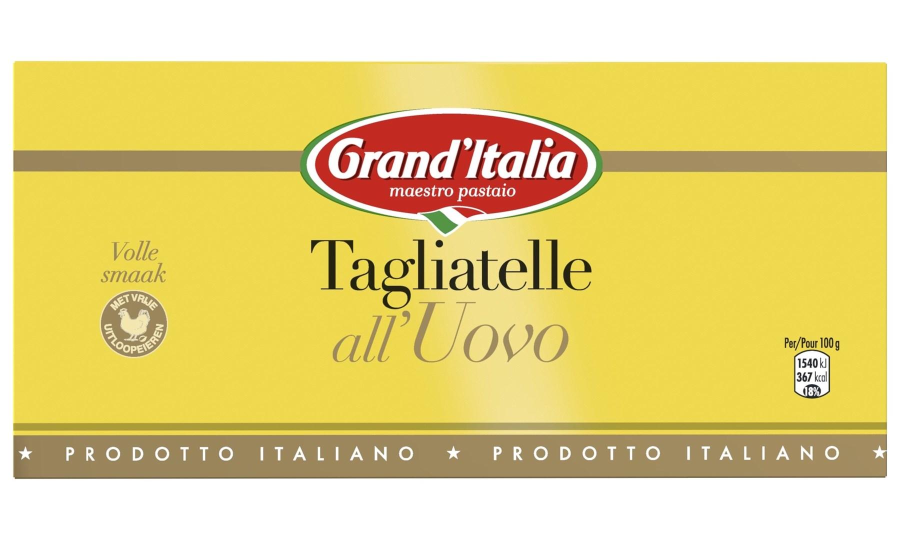 Productafbeelding Grand'Italia Pasta Tagliatelle all'Uovo 3kg Doos