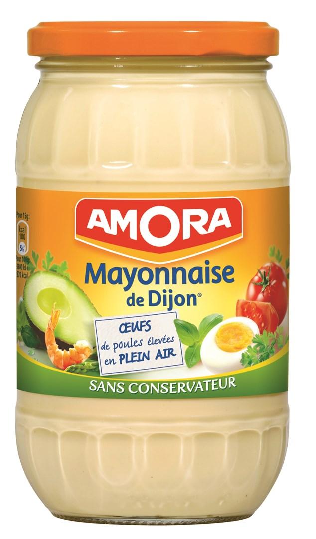 Productafbeelding Amora Mayonaise de Dijon 470 g Bus