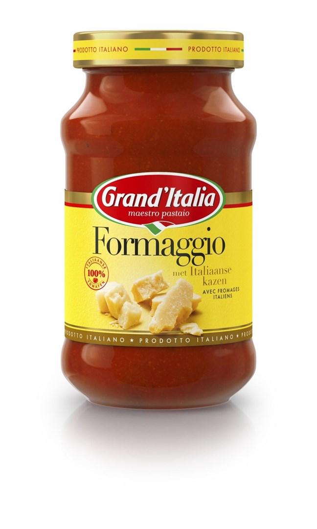 Productafbeelding Grand'Italia Tomatensaus Formaggio 400 g Bus