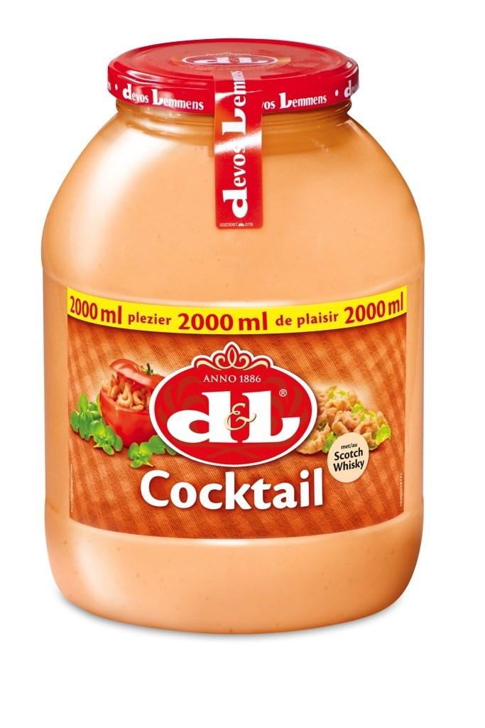 Productafbeelding D&L Cocktail Saus met Scotch Whisky 2 l Bus