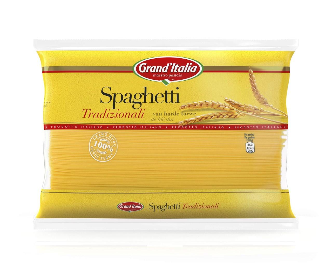 Productafbeelding Grand'Italia Pasta Spaghetti Tradizionali 3kg Zak