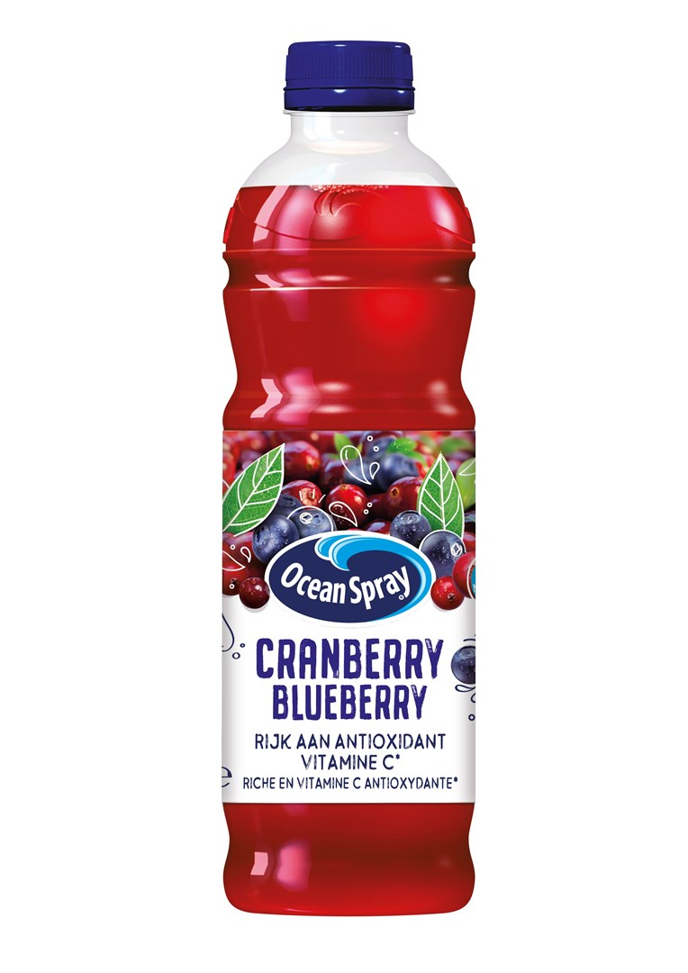 Productafbeelding Ocean Spray Vruchtendrank Cranberry Blueberry 1 l Fles