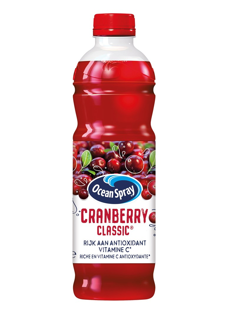 Productafbeelding Ocean Spray Vruchtendrank Cranberry Classic 1 l Fles