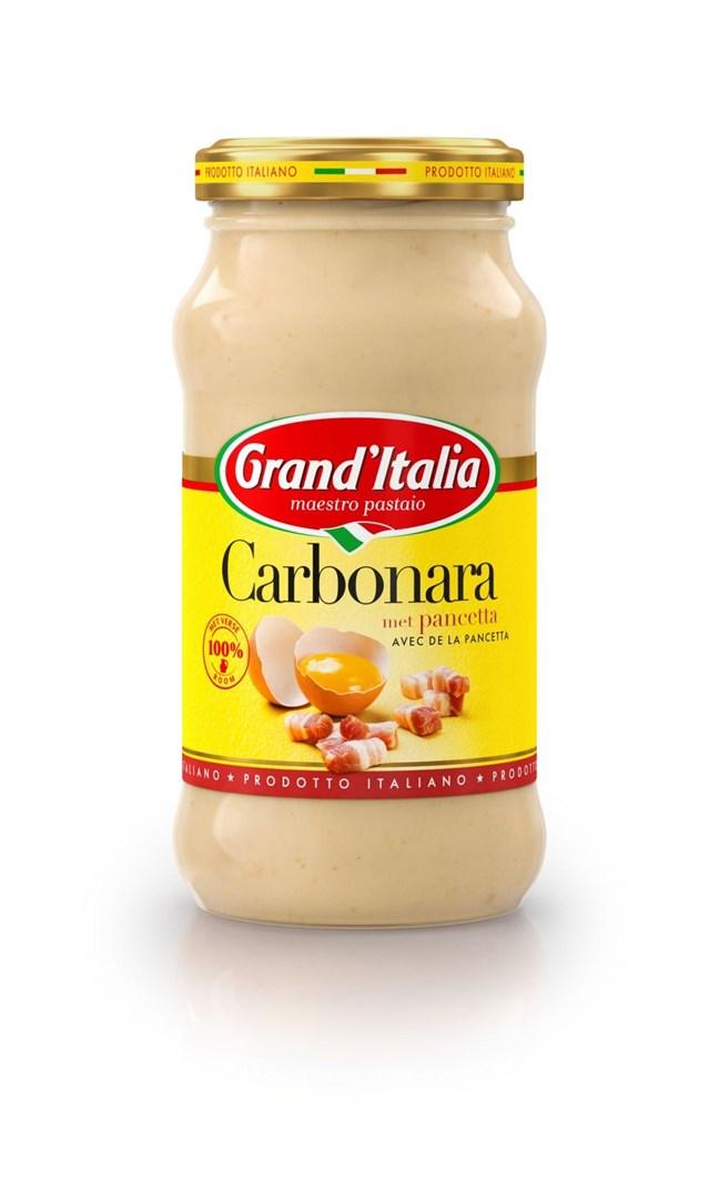 Productafbeelding Grand'Italia Roomsaus Carbonara 260 g Bus