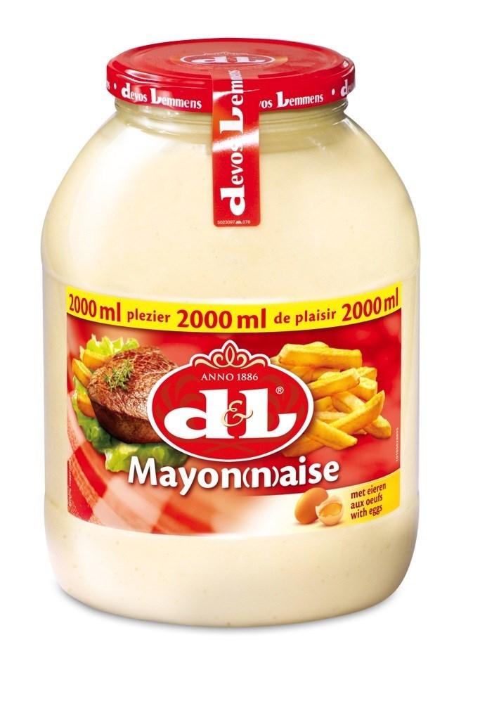 Productafbeelding D&L Mayonaise met Eieren 2 l Bus