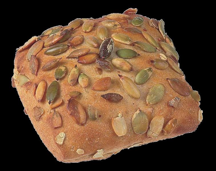 Productafbeelding Vierkant broodje met pompoenpitten