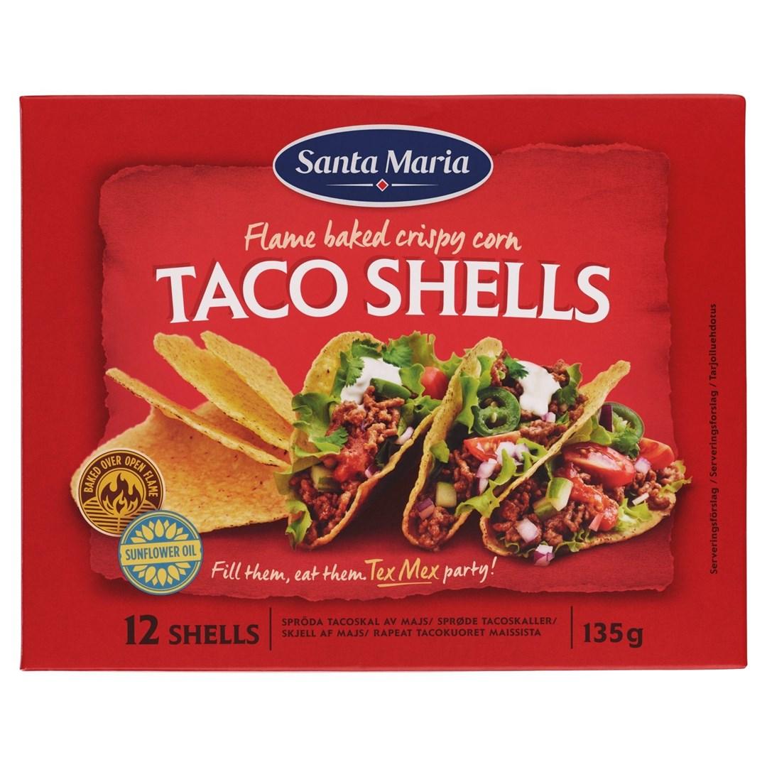 Productafbeelding Santa Maria 135G Taco Shells