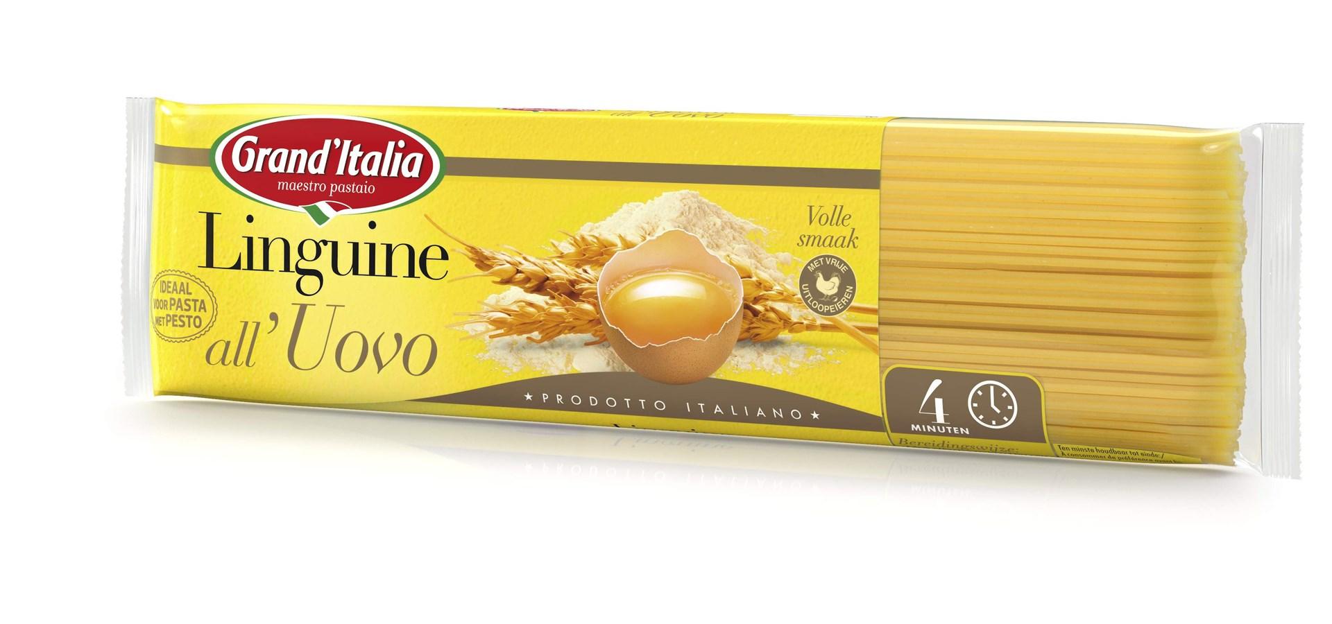 Productafbeelding Grand'Italia Pasta Linguine all'Uovo 500 g Zak