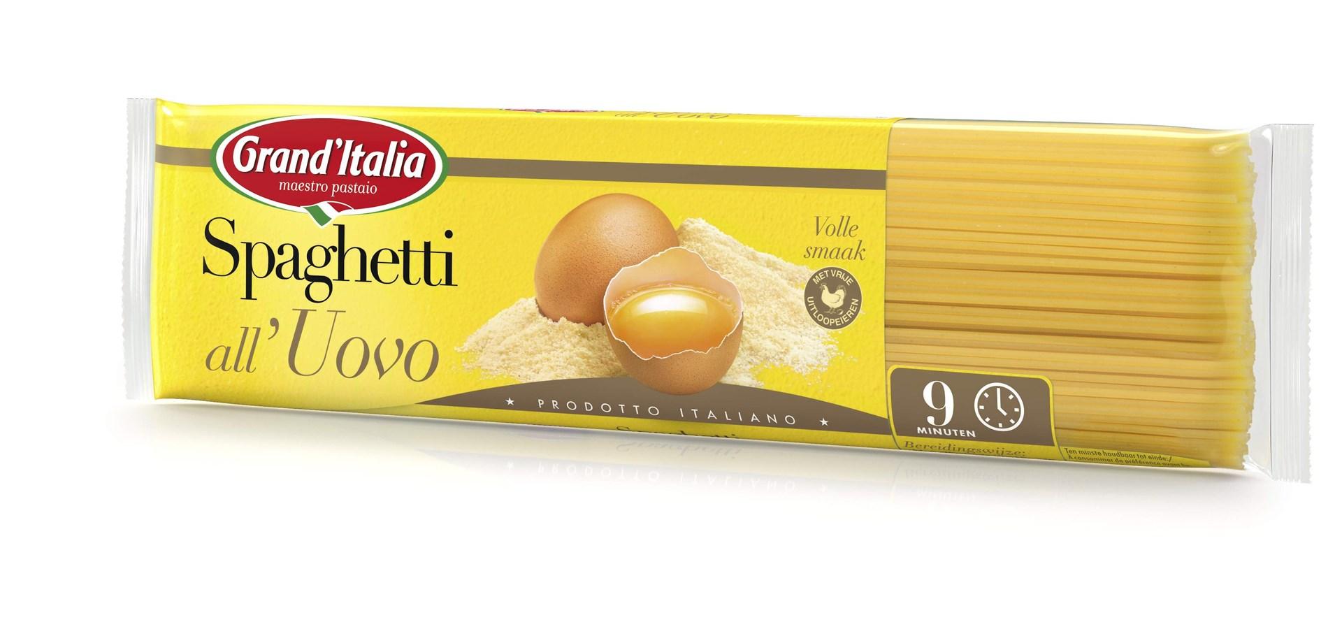 Productafbeelding Grand'Italia Pasta Spaghetti all'Uovo 500 g Zak