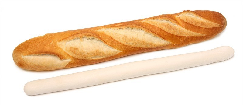 Productafbeelding I20 Cru Baguette wit 525g