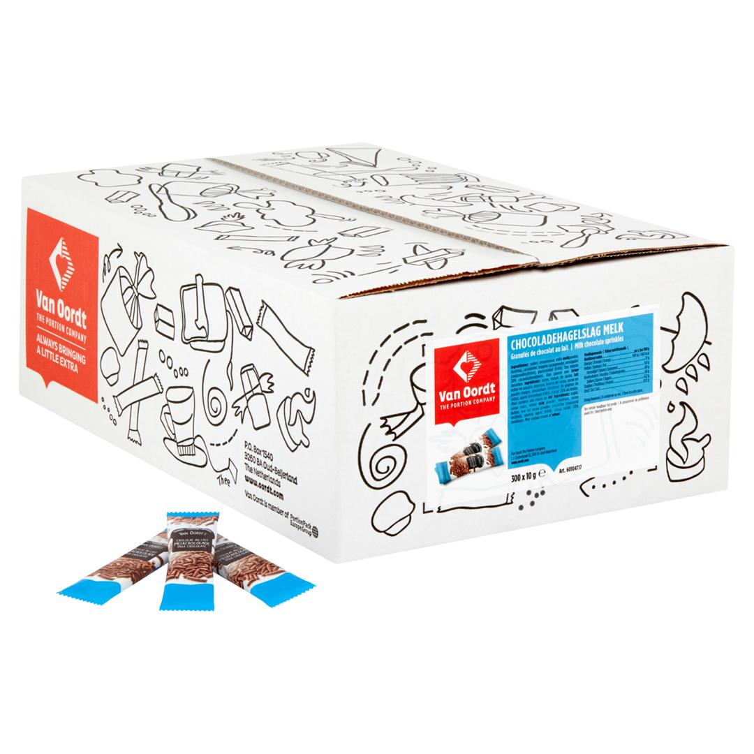 Productafbeelding Hagelslag melk in stick 300x10g