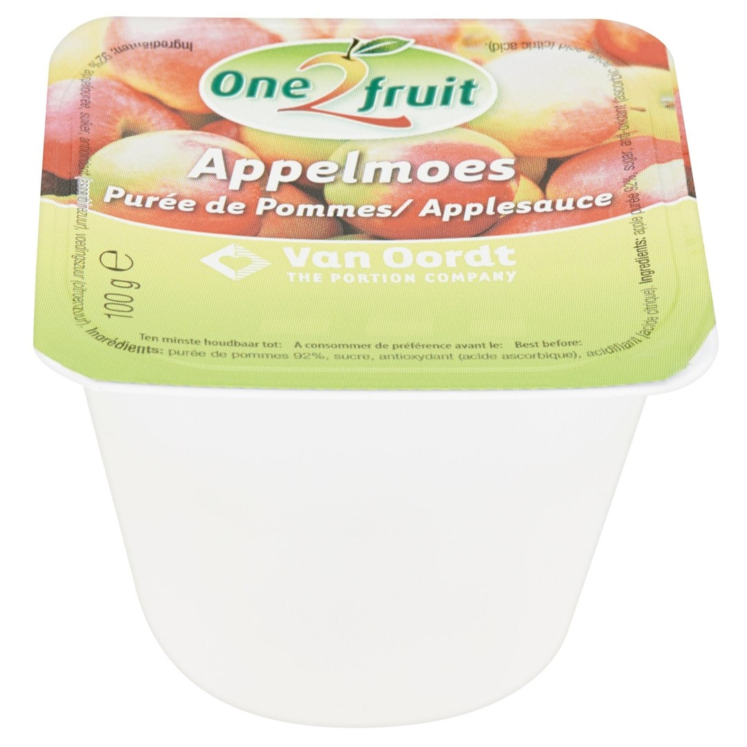 Productafbeelding Appelmoes cup 120x100g