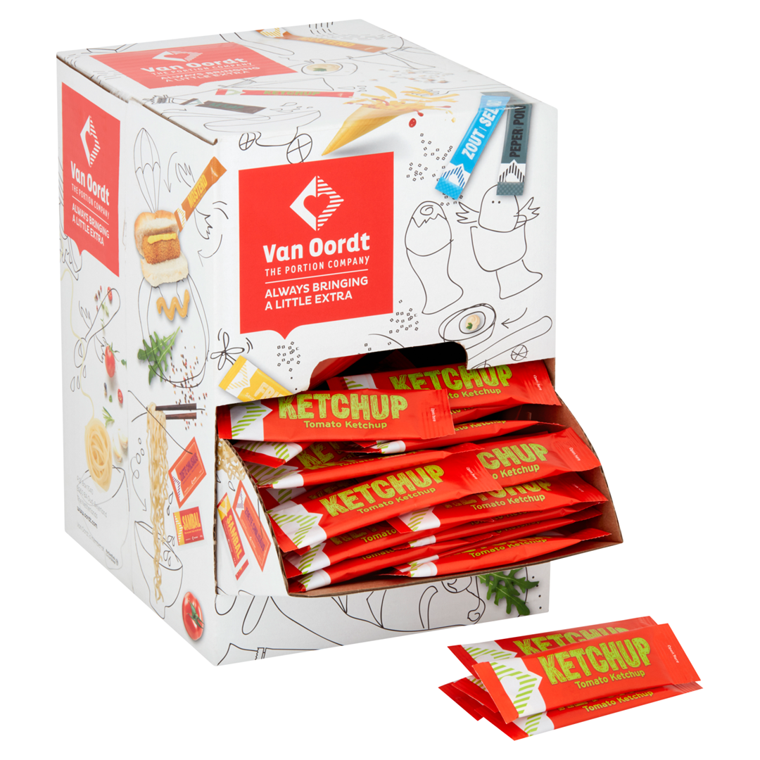 Productafbeelding Tomatenketchup in stick 248x9ml