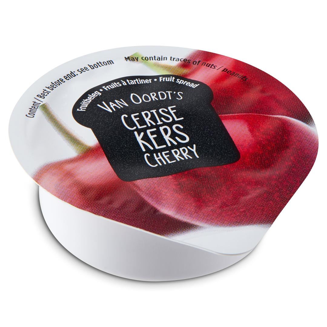 Productafbeelding Fruitbeleg kers in cup 240x15g