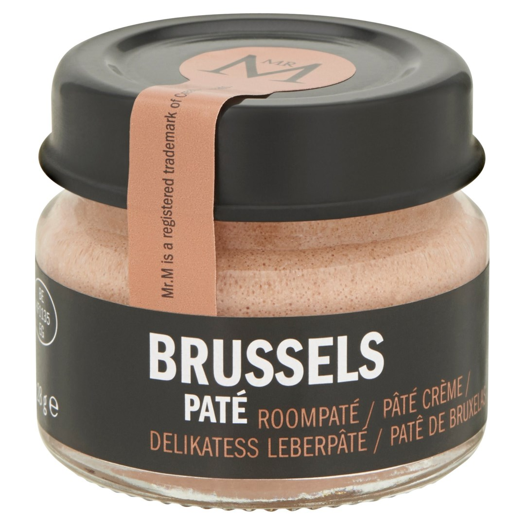 Productafbeelding Brussels paté  in potje 24x28g