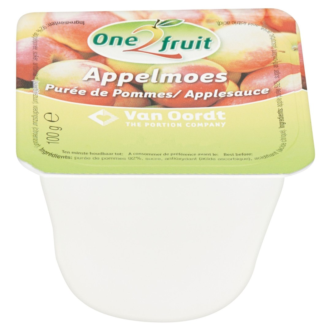 Productafbeelding Appelmoes in cup 48x100g