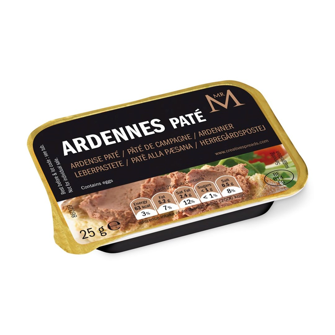 Productafbeelding Ardenner paté in  cup 60x25g