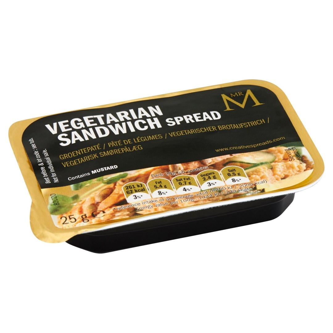 Productafbeelding Vegetarian Sandwich spread in cup 60x25g