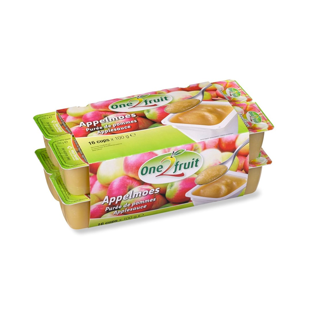 Productafbeelding Appelmoes in cup 16x100g