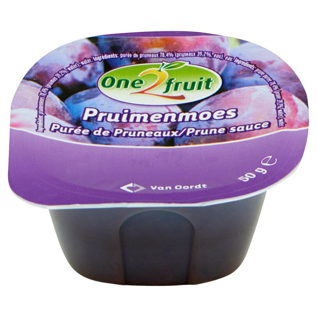 Productafbeelding Pruimenmoes cup 48x50g