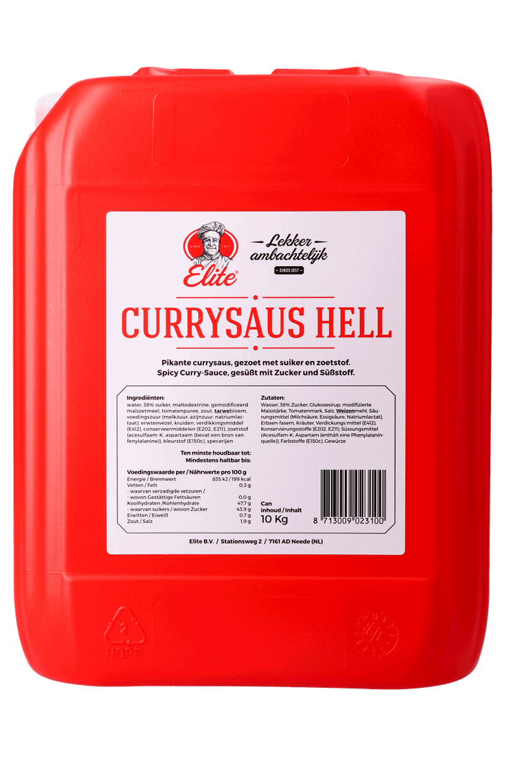 Productafbeelding Currysaus Hell can 10 kg