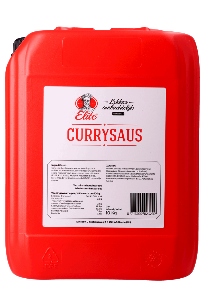Productafbeelding Currysaus can 10 kg
