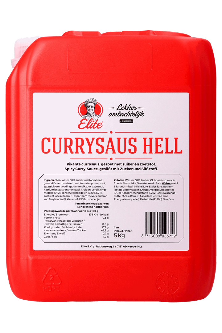 Productafbeelding Currysaus Hell can 5 kg