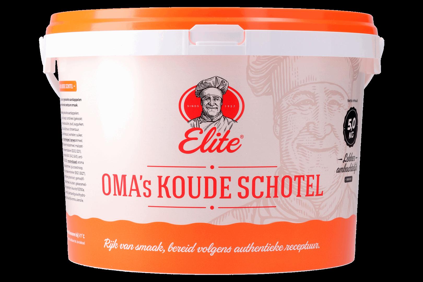 Productafbeelding Oma's Koude Schotelsalade 5 kg