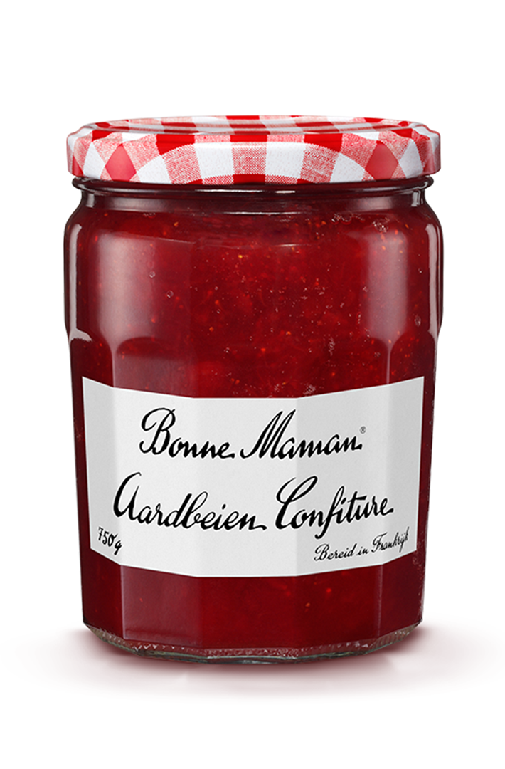 Productafbeelding Bonne Maman confiture aardbeien 750g pot