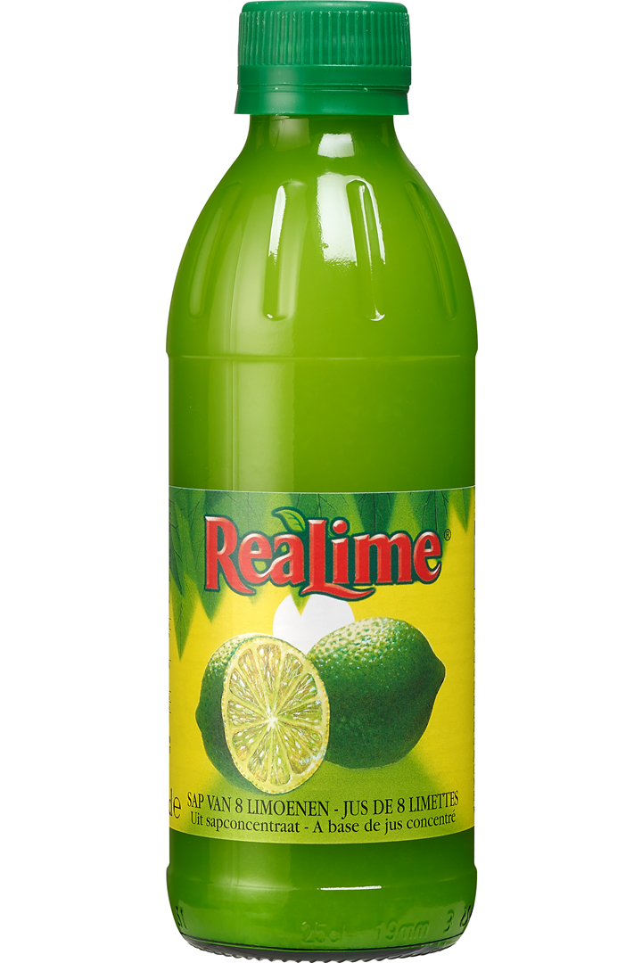 Productafbeelding Realime limoensap 25cl fles