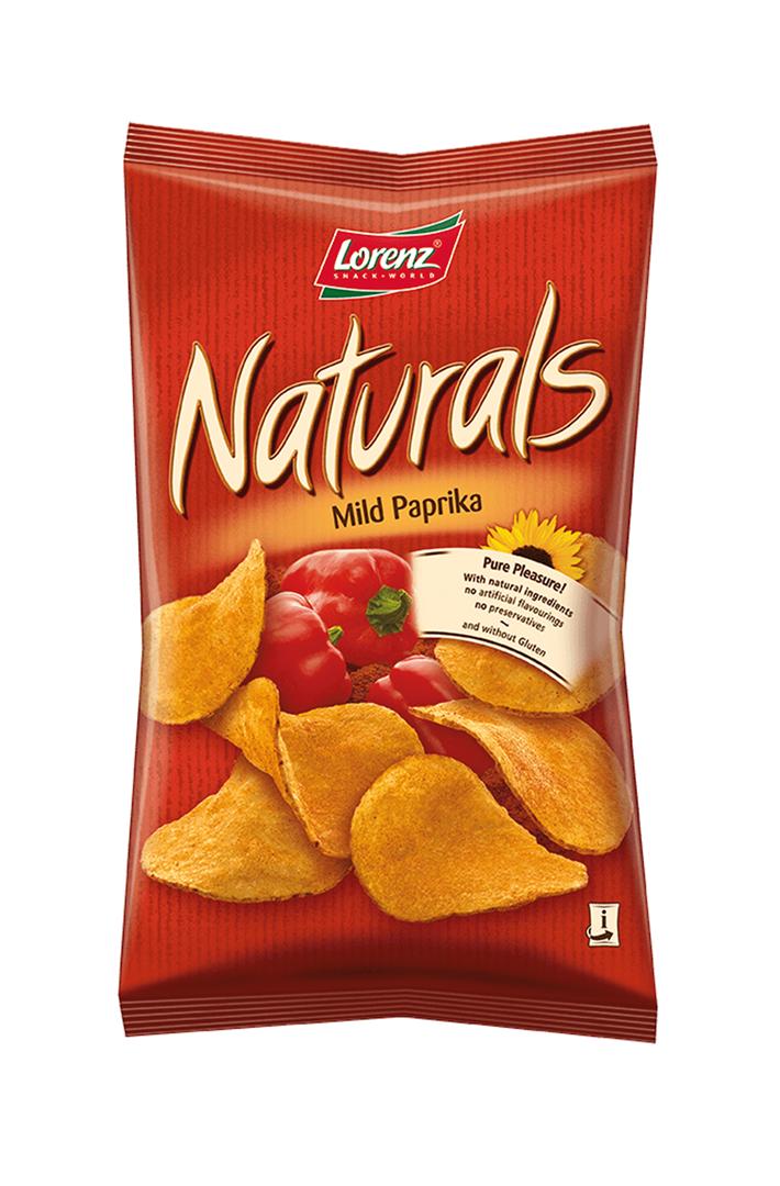 Productafbeelding Lorenz naturals chips paprika 100g zak