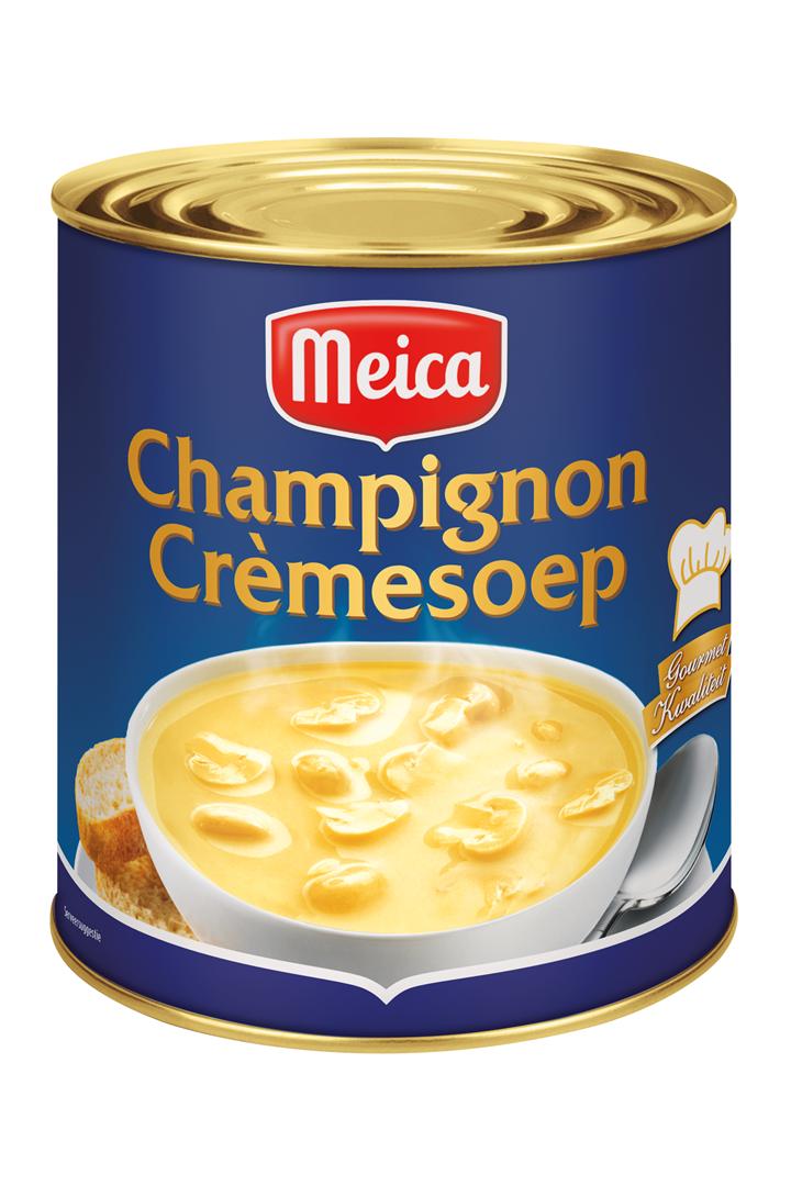 Productafbeelding Meica soep champignon crème 3l blik